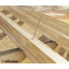 Kép 4/4 - Rothoblaas tányérfejű (TBS) építő csavarok  6x100 mm 50 db./doboz