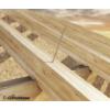 Kép 4/4 - TBS nagyfejű építő csavarok Rothoblaas 6x160 mm 50 db./doboz