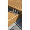 Kép 2/4 - Rothoblaas GAP3 rejtett faburkolat rögzítő rendszer 40x32 mm rögzítő