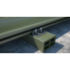 Kép 3/4 - Rothoblaas GAP4 rejtett faburkolat rögzítő rendszer 42x42 mm rögzítő