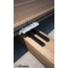 Kép 1/3 - Rothoblaas PROFID epdm fa terasz alátétszalag 8 mm x 8 mm x 40 méter