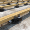 Kép 1/4 - Rothoblaas SUPPORT állítható teraszrendszer talp M-es talpméret 35-50 mm magasság