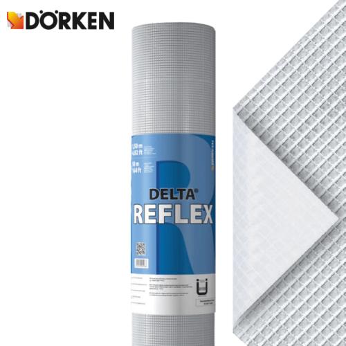 Dörken Delta Reflex párazáró tetőfólia AKCIÓ !! 1,5x50 méteres tekercsben