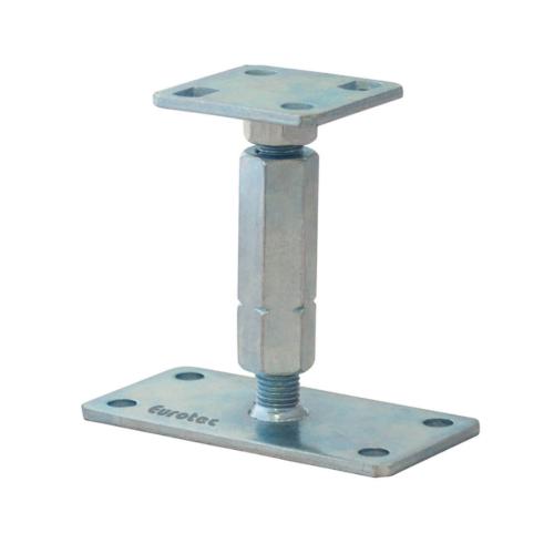 Eurotec állítható oszloptalp 135 mm +65 mm