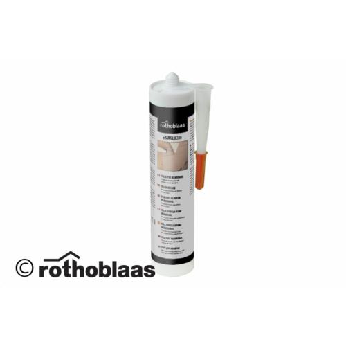 Rothoblaas Superb glue nagy rugalmasságú fóliaragasztó 310 és 600 ml-es kiszerelésben