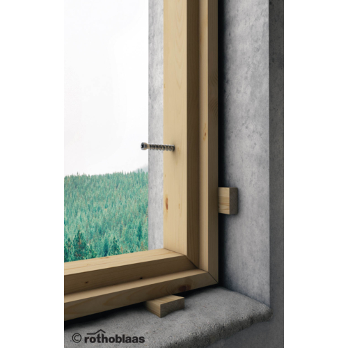 MBS ablakbeépítő csavar téglafalhoz 7,5x72 mm 100 db./doboz