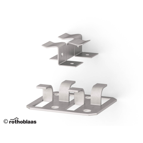 Rothoblaas GAP3 rejtett faburkolat rögzítő rendszer 40x32 mm rögzítő