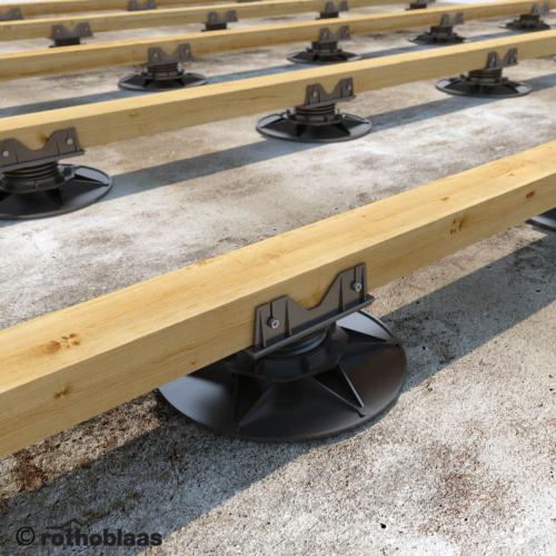 Rothoblaas SUPPORT állítható teraszrendszer talp M-es talpméret 35-50 mm magasság