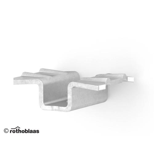 Rothoblaas TVM 4 rejtett teraszdeszka rögzítő klips rozsdamentes acél