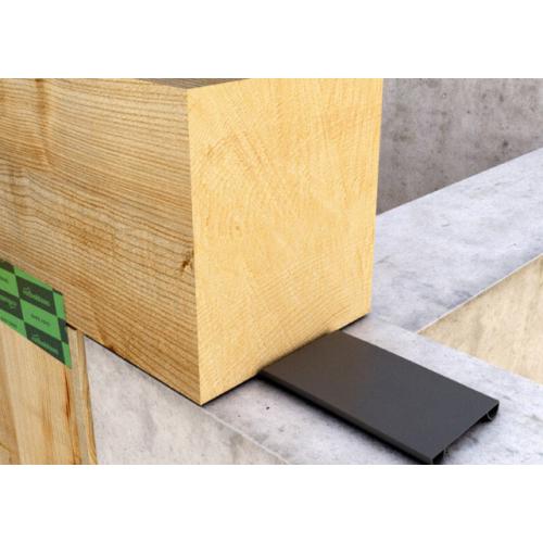 Rothoblaas Tie-beam dupla profilos fa-beton tömítő és zajcsillapító EPDM szalag